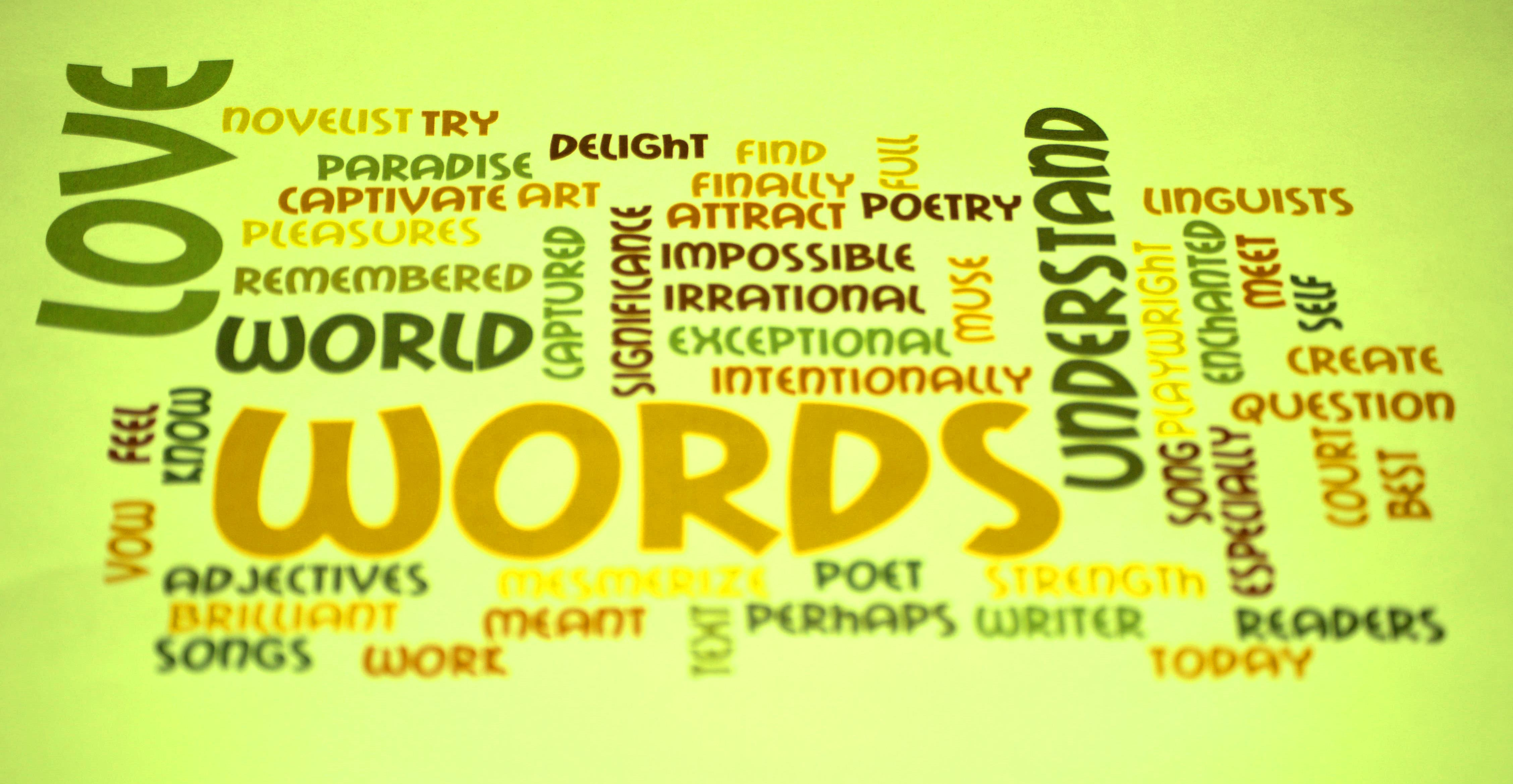 Paradise of words