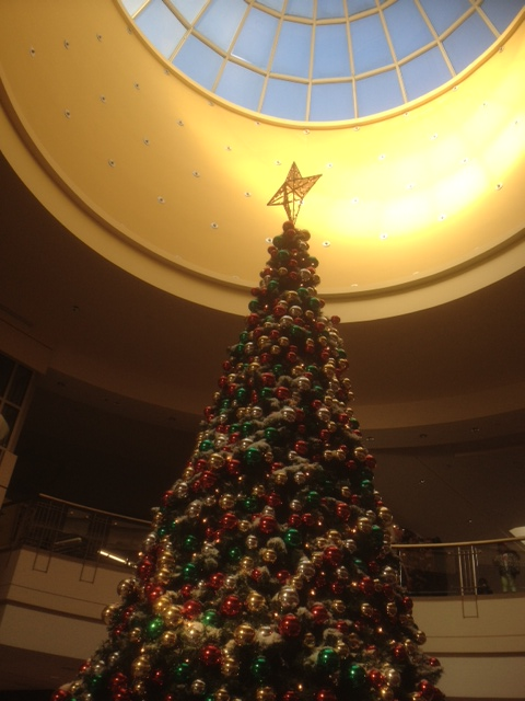 Shopping Center Christmas Tree
