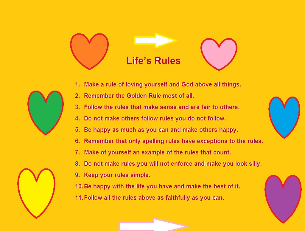 My Life's Rules