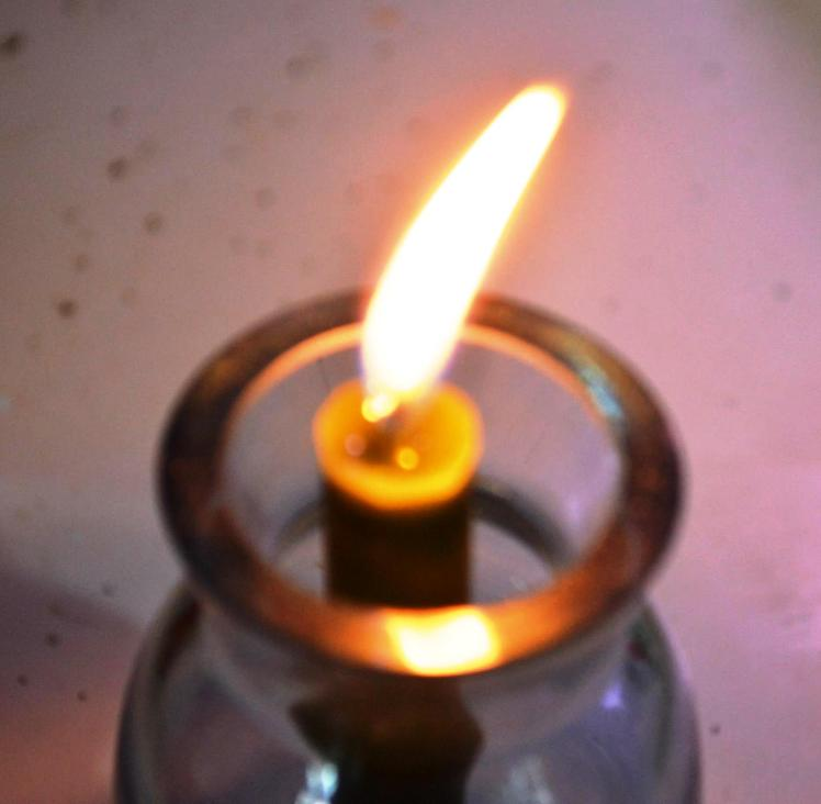 A candle in the wind