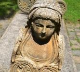 Statue at Memorial Park in BUDD lake