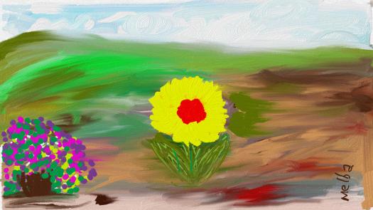 My Single Sunflower