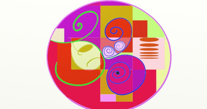 Multiple Shape Mandala